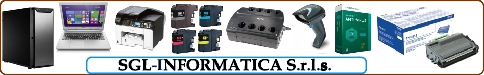 SGL-INFORMATICA S.r.l.s. - Gestionale, software, hardware, computer, notebook, stampanti, toner, cartucce, barcode, server