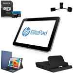 "Tablet HP modello G1 ELITEPAD 900 da 10,1"" (1280 x 800) con 64GB + 128GB s.o. Windows 8.1 pro"